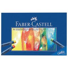 """Пастель масляная художественная FABER-CASTELL """"Studio quality"""", 36 цветов, круглое сечение"""
