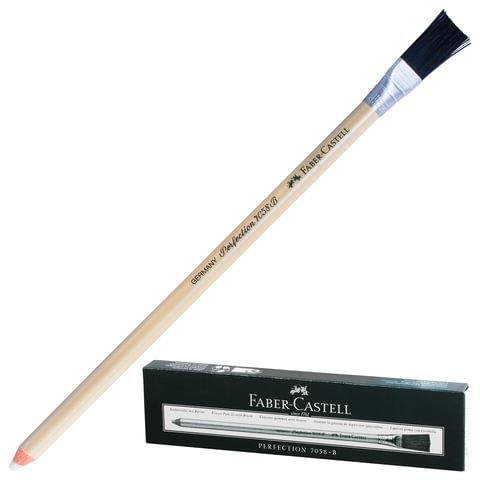 """Корректор-карандаш для чернил и туши FABER-CASTELL, 1 шт., """"Perfection"""", с кисточкой"""