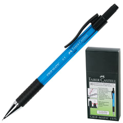 "Карандаш механический FABER-CASTELL ""Grip Matic 1375"", корпус голубой, ластик, 0,5 мм, 137551"