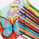 """Карандаши цветные ПИФАГОР """"КОТИК"""", 12 цветов, пластиковые, классические заточенные"""
