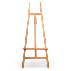 Мольберт напольный BRAUBERG ART CLASSIC, бук, угол 60°, 61х152х67 см, высота холста 126 см