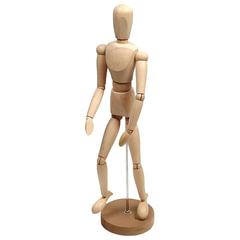 """Манекен (кукла) человека художественный """"Сонет"""", мужской, дерево, высота 50 см"""