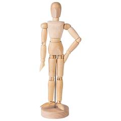 Манекен (кукла) человека художественный BRAUBERG ART, женский, дерево, высота 20 см