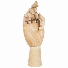 """Модель художественная BRAUBERG ART """"Рука"""", высота 25 см, женская, правая, дерево"""