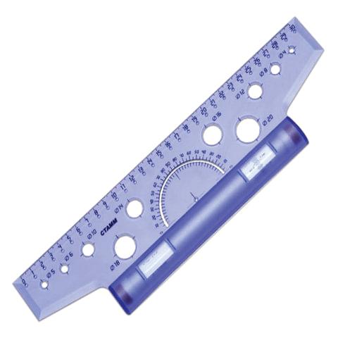 Шариковая ручка СТАММ VEGA с синим стержнем 0.7 мм на масляной основе РШ101