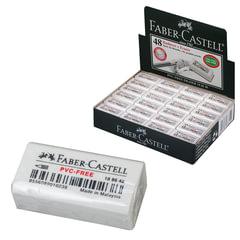 """Резинка стирательная FABER-CASTELL (Германия) """"7086"""", для чернографитных и цветных карандашей"""