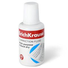 Корректирующая жидкость c губкой ERICH KRAUSE, 20 мл, 13812