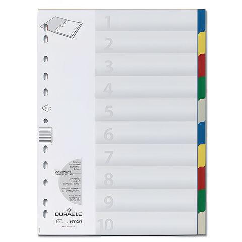 Разделитель пластиковый по датам (31 день) А4 IND102