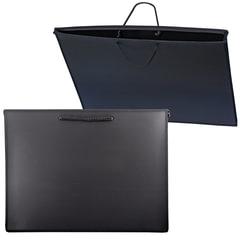 Папка для рисунков и чертежей, А3, 460х343 мм, с ручками, пластиковая, черная