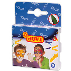 Грим для лица JOVI (Испания), 5 цветов, пигментированный воск, картонная упаковка