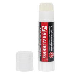 "Клей-карандаш BRAUBERG ""Crystal"", прозрачный, 15 г, 224337"