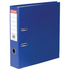 "Папка-регистратор ESSELTE ""Economy"", покрытие пластик, 75 мм, синяя"