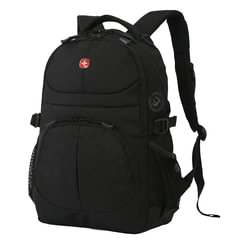 Рюкзак WENGER, универсальный, черный, 22 л, 34х15х47 см