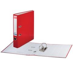 """Папка-регистратор ERICH KRAUSE """"Стандарт"""", с покрытием из ПВХ, 50 мм, красная"""