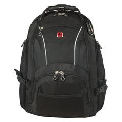 Рюкзак WENGER, универсальный, черный, 32 л, 36х19х47 см