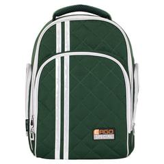 Рюкзак с ортопедической спинкой TIGER FAMILY (ТАЙГЕР) Полосы, хаки, 19 л, 39х31х22 см