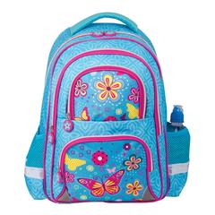 """Рюкзак BRAUBERG (БРАУБЕРГ), с EVA спинкой, для учениц начальной школы, """"Махаон"""", 12 литров, 38х30х14 см"""