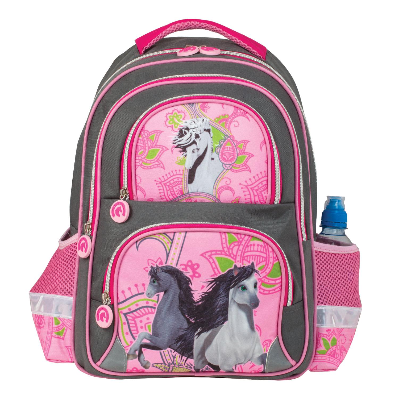 39ba9a924a18 Рюкзак BRAUBERG, с EVA спинкой, для учениц начальной школы,