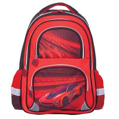 """Рюкзак BRAUBERG, с EVA спинкой, для учеников начальной школы, """"Красная фурия"""", 12 литров, 38х30х14 см"""