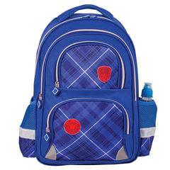 """Рюкзак BRAUBERG, с EVA спинкой, для учеников начальной школы, """"Оксфорд"""", 12 литров, 38х30х14 см"""