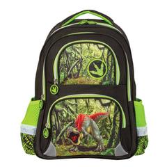 """Рюкзак BRAUBERG, с EVA спинкой, для учеников начальной школы, """"Динозавр"""", 12 литров, 38х30х14 см"""