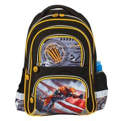 """Рюкзак BRAUBERG, с EVA спинкой, для учеников начальной школы, """"Тигр"""", 12 литров, 38х30х14 см"""