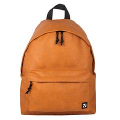 """Рюкзак BRAUBERG универсальный, сити-формат, коричневый, кожзам, """"Селебрити"""", 20 литров, 41х32х14 см"""