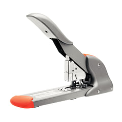 Степлер RAPID Fashion HD210 (Швеция), мощный, №23/8 - 23/24, до 210 листов, серебристый/оранжевый