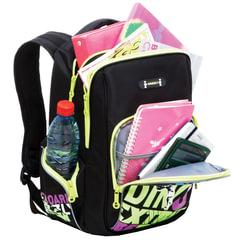 """Рюкзак GRIZZLY для учеников средней школы, """"Скейтборд"""", 22 литра, 27х38x19 см"""