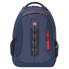 Рюкзак WENGER, универсальный, темно-синий, 28 л, 44х35х18 см