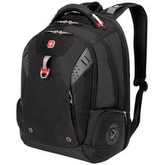 Рюкзак WENGER, универсальный, черный, функция ScanSmart, 34 л, 46х34х24 см