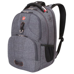Рюкзак WENGER, универсальный, серый, функция ScanSmart, 31 л, 47х34х20 см