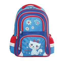 """Рюкзак BRAUBERG с EVA спинкой, для учениц начальной школы, """"Китти"""", 38х30х14 см"""