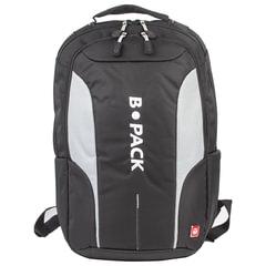 """Рюкзак B-PACK """"S-04"""" (БИ-ПАК) универсальный, с отделением для ноутбука, влагостойкий, черный, 45х29х16 см"""