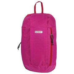 """Рюкзак STAFF """"Air"""", универсальный, розовый, 40х23х16 см, 227043"""