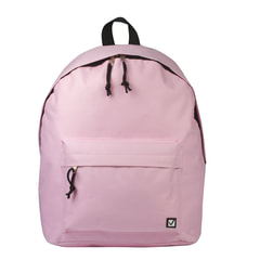 Рюкзак BRAUBERG универсальный, сити-формат, розовый, 38х28х12 см