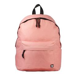 Рюкзак BRAUBERG универсальный, сити-формат, персиковый, 38х28х12 см