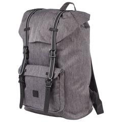 """Рюкзак BRAUBERG молодежный с отделением для ноутбука, """"Кантри"""", серый меланж, 41х28х14 см"""