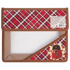 """Папка для тетрадей BRAUBERG, А5, на липучке, с уголком, для мальчиков, """"Медведь"""", 227131"""