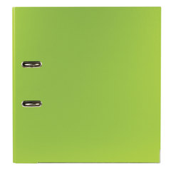 Папка-регистратор ESSELTE 80мм, А4+,VIVIDA Plus, с двухсторонним покрытием из полипропилена, зеленая