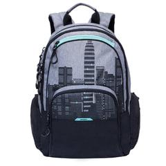 """Рюкзак GRIZZLY для старших классов/студентов/молодежи, """"Мегаполис"""", 16 литров, 42х30х22 см"""