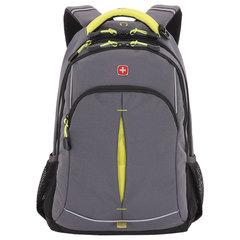 Рюкзак WENGER универсальный, серый, светоотражающие элементы, 22 л, 32х15х46 см