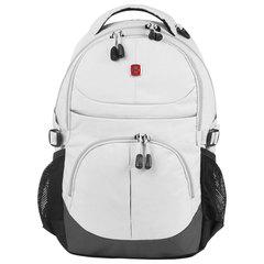 Рюкзак WENGER универсальный, светло-серый, светоотражающие элементы, 22 л, 33х15х45 см