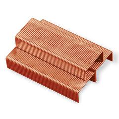 Скобы для степлера BRAUBERG, №10, 1000 штук, медное покрытие, в картонной коробке, до 20 листов