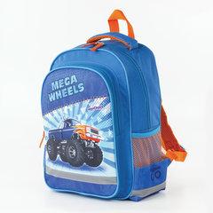 Рюкзак ЮНЛАНДИЯ для учеников начальной школы, Мегавилс, 38х28х14 см