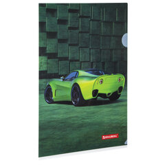 "Папка-уголок BRAUBERG ""SPORT CAR"", А4, 150 мкм, цветная печать, 228044"