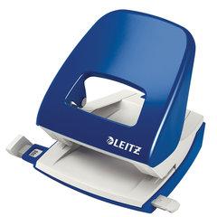 """Дырокол металлический LEITZ """"New NeXXT"""", до 25 листов, синий, 50050035"""
