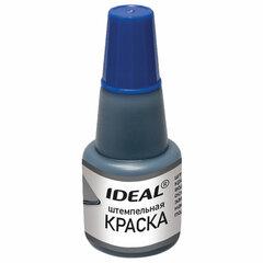 Краска штемпельная TRODAT IDEAL синяя 24 мл, на водной основе, 7711с