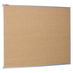 Доска пробковая BOARDSYS для объявлений, 100х120 см, металлическая рамка