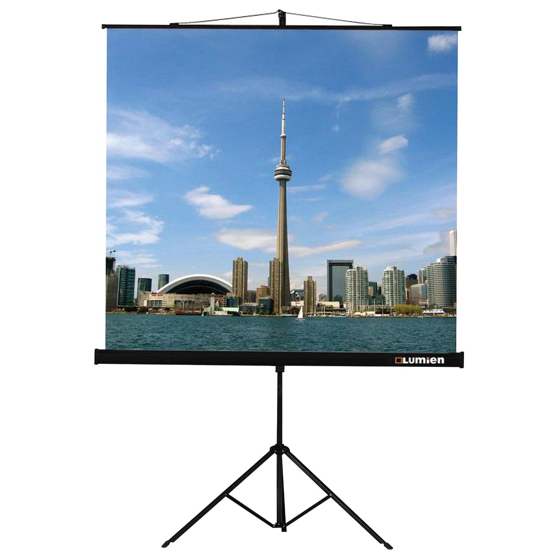 Экран проекционный на треноге (150х150 см), матовый, 1:1, LUMIEN ECO VIEW